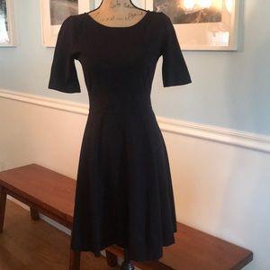 Beautiful J. Crew Black Dress Size 4. So classic